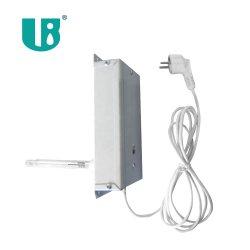 7W UV esterilizador ultravioleta purificación del aire con balasto electrónico Kit de lámpara de 220V