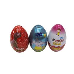 Пасхальные яйца форму металлического олова конфеты в салоне для детей в подарочной упаковке .