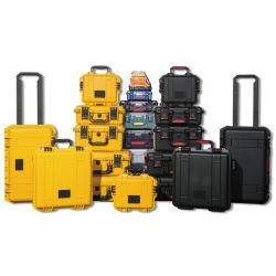 Sicherheits-tragen wasserdichtes Shockproof schroffes hartes Plastikgeräten-Instrument Hilfsmittel-Kasten