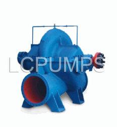 양쪽 흡입 단단 쪼개지는 소용돌이 모양 케이싱 원심 펌프