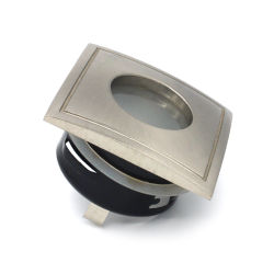 Die литой алюминиевый квадратный Фиксированные светильники акцентного освещения в ванной комнате под руководством зажимное приспособление для набегающей держатель рамы (LT1901)