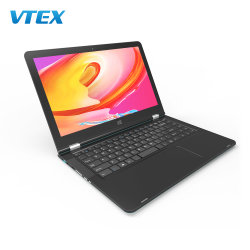 14inch 360 Laptop 128GB SSD Hard DriveはRotating Educational Notebooksに触れるScreen