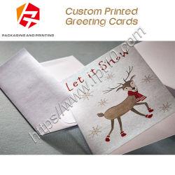 Je vous remercie de vous les meilleurs voeux de la carte de pliage Message cadeau carte Carte de voeux des Fêtes de décoration bricolage enveloppe