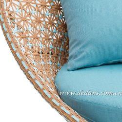 좋은 품질 프로방스 옥외 고리버들 세공에 의하여 길쌈되는 라운지용 의자 또는 소파 & 측 테이블