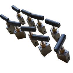 Válvula de aguja de alta presión para la prueba de maquinaria