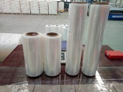 Упаковки пленки и LLDPE использования материалов Китай очистить поддон устройства обвязки сеткой