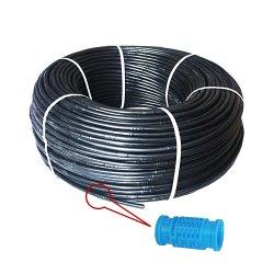 16mm tuyau flexible de l'irrigation au goutte à goutte de ferme avec l'intérieur goutteur cylindrique