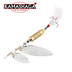 Kamashaga 7g вращатель баиг ложки рыбного промысла приманка рыболовные наживка металлические обманом заманивают вращателя