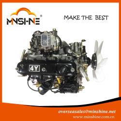Piezas de automoción Motor completo 4y carburador de 4 cilindros gasolina para Toyota