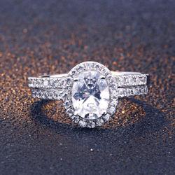 주문품 보석 공장 형식 결혼 반지