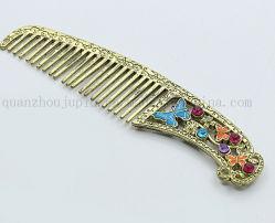 Clásica de alta calidad de metal de 10cm de pelo peine para regalo promocional