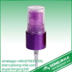 Violet en métal micro fine brume pour les cosmétiques Parfum du pulvérisateur
