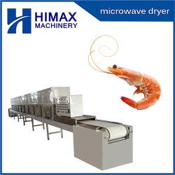 La esterilización industrial de la máquina de secado de camarones Camarones Horno microondas