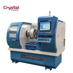 Reparación de llanta de aleación de corte de diamante de la máquina CNC máquina
