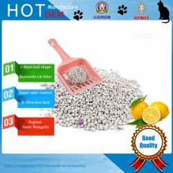 Hot vendre Ball Shape, rapide, disque touffe de la bentonite la litière pour chat