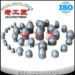 El tungsteno de carburo cementado dientes Cone-Shaped esférica
