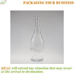 700ml en verre bouteille avec de l'anneau de l'alcool esprit haut de page