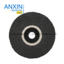 Disco abrasivo flessibile della falda con il panno della sabbia del carburo di silicone per acciaio di lucidatura