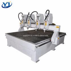 Hohe Genauigkeit 4 geht Entlastung CNC-Gravierfräsmaschine des Holz-1325 voran