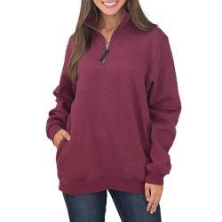 Neues Entwurfs-Dame-Baumwollterry-Winter-Sweatshirt