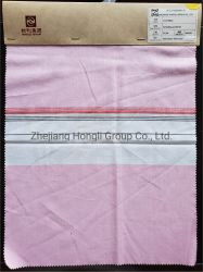 Teñido de hilados de algodón tejido tela modal para damas prendas de vestir'
