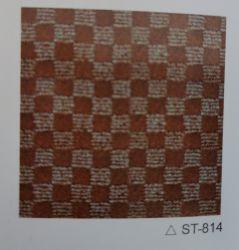 St814二重カラーベロアのジャカードカーペット、Non-Wovenカーペット