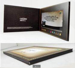 Usine chinoise de 2017 Carte de voeux vidéo LCD