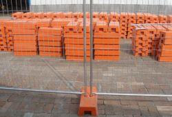 Galvanisierte geschweißte temporäre Zaun-Panels/bewegliches Metalltemp-Zaun-Panel für Verkauf