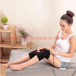 Le genou d'enrubannage de la nappe chauffante chauffée attelle de genou, thérapie de la chaleur comprimer à chaud pour réchauffer l'allégement de la douleur au genou mixte raide, de l'arthrite, des souches