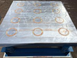 ZT1*1 magnético concreto mesa vibratoria