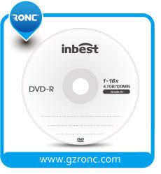 Хорошее соотношение цена чистые диски DVD 4,7 ГБ 1-16X 120 мин с класса А качества