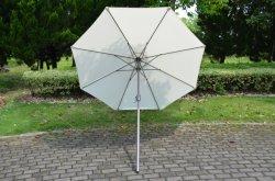 Venda quente Personalizar Piscina Califórnia Umbrella tecido olefinas Alumínio Inclinação Automática Mercado Castanha Umbrella, guarda de Mercado