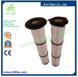 O elemento do filtro de ar do coletor de pó