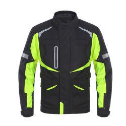 Hi Viz e Preto Inverno Motociclo Têxteis Touring casacos