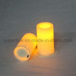 Elevadores eléctricos de spa Âmbar decorativas cintilação Flameless Âmbar suaves brisas ornamento Vela votiva do LED
