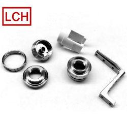 Hohe Präzisions-kundenspezifisches Metall-CNC-maschinell bearbeitende Aluminiumkomprimierung-Befestigungen