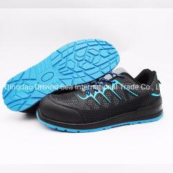 Sapatos de segurança superior Kpu Calçado com a convergência de Aço Padrão