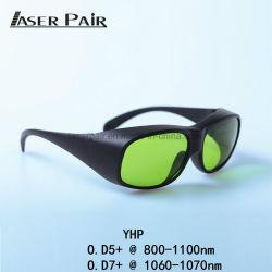 Occhiali di protezione del laser di alto potere, occhiali di protezione di sicurezza per il laser 808nm di /Diode della tagliatrice del laser della fibra di precisione del laser 1064nm /High della fibra