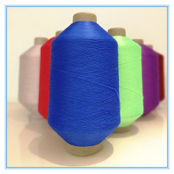 75D /36f/2 aus hochelastischem, strukturiertem Polyestergarn Imitation Nylon-Garn Für Socken