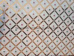 الجليد حمض الضفدع زجاج السقف الزهرة ، زخرفة فنية نافذة ملونة زجاج تقسيم الجدار