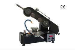 Stx-201interminable hilo de diamante de la sierra con micrómetro digital ángulo ajustable y dos etapas de la muestra