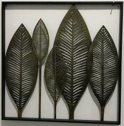 Домашняя питания Vintage металлические банана листья ремесленные изделия для монтажа на стену оформление