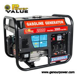 заводская цена 3Квт бензин Partable 220V двигатель генераторной установки
