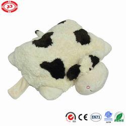 2en1 Pet de vache Cute Fancy Coton Doux farcies oreiller moelleux