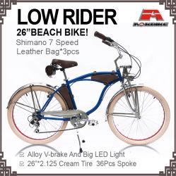 26 Beach Cruiser vélo Lowrider 7 vitesse
