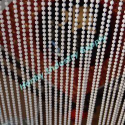 4.5mm silberne Edelstahl-Rollen-Vorhang-Kugel-Kette