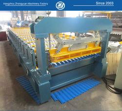 Het gekleurde Aluminium van het Metaal van het Staal verglaasde Broodje van de Laag van het Comité van de Muur van het Dak van het Blad van de Tegel het Enige Vormt de Prijs van de Fabriek van de Machine met ISO9001/Ce/SGS/Soncap