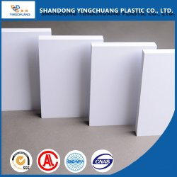 Alta densità Bianco e colore buon prezzo PVC materiale per costruzione in Panelda Foglio di plastica pannello in PVC espanso