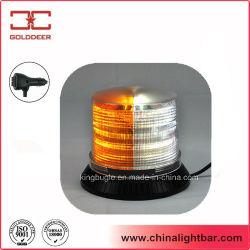 La cúpula del PC baliza estroboscópica LED blanco de ámbar para el coche (TBD348-III)