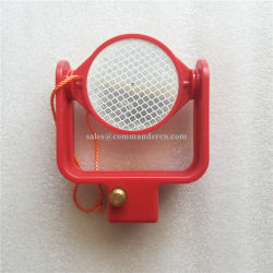 Leica, das Reflektor-Prisma für Tunnel-Aufbau kippt